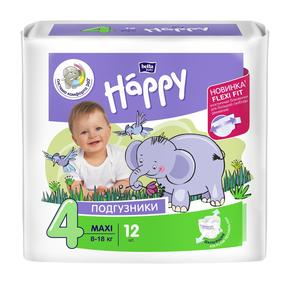 БЕЛЛА Беби хеппи подгузники детский(ая)  8-18кг №12 maxi (Bella baby happy)